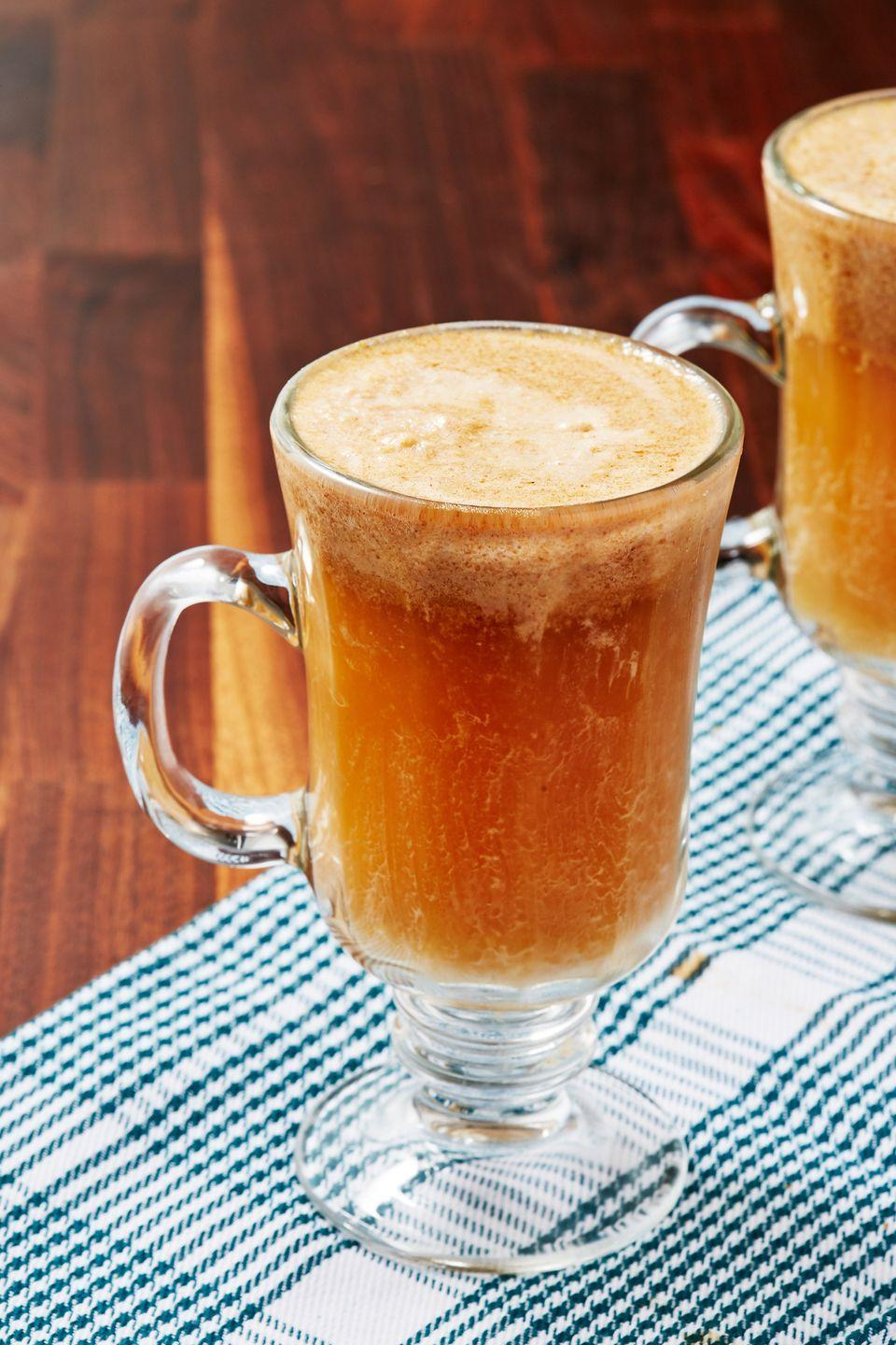 "<p>The perfect way to end the meal.</p><p>Get the recipe from <a href=""https://www.delish.com/cooking/recipes/a50396/hot-buttered-rum-recipe/"" rel=""nofollow noopener"" target=""_blank"" data-ylk=""slk:Delish"" class=""link rapid-noclick-resp"">Delish</a>. </p>"
