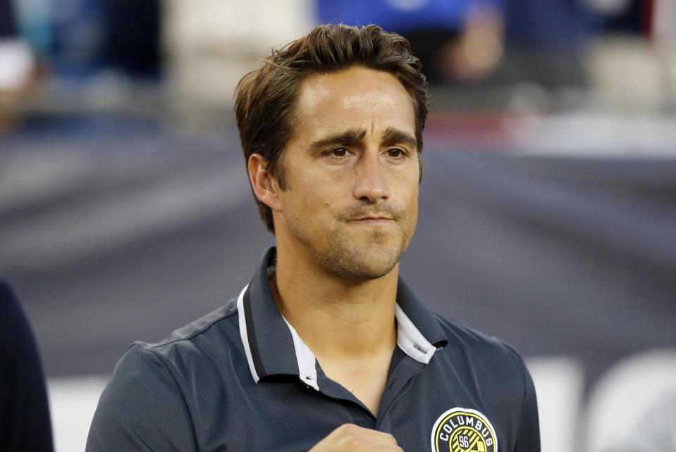 Columbus Crew assistant coach Josh Wolff will become Gregg Berhalter's deputy with the United States men's national team. (Fred Kfoury III/Getty)