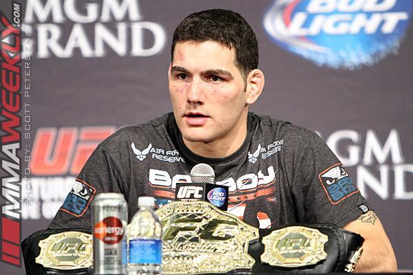 """Dana White on Chris Weidman: """"How is He Not No. 1 Pound-for-Pound if He Beats Vitor Belfort?"""""""