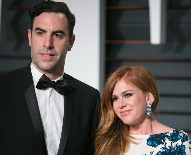 Actor Baron Cohen and wife give $1 mn for Syrian refugees