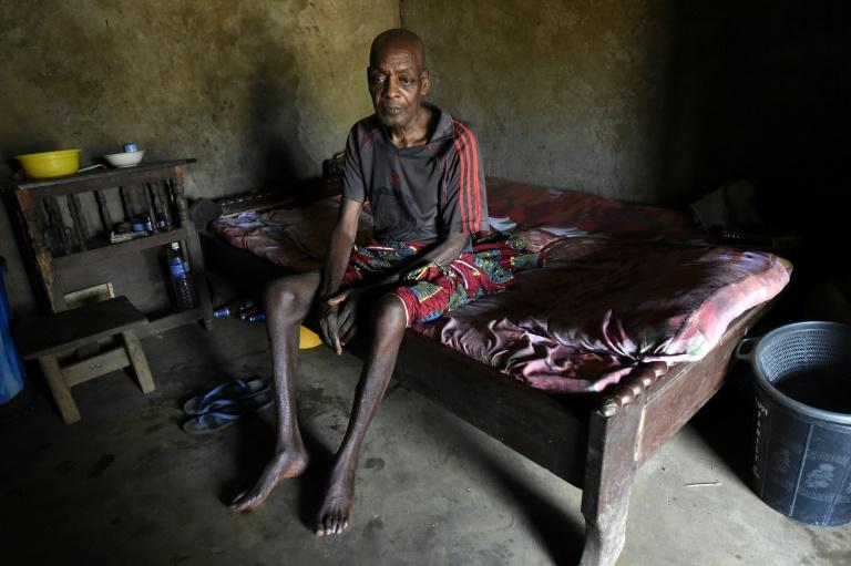 Refugeee: Ben Ojometa, a 75-year-old Cameroonian who fled to the town of Agborkim in Cross Rivers state in February 2018