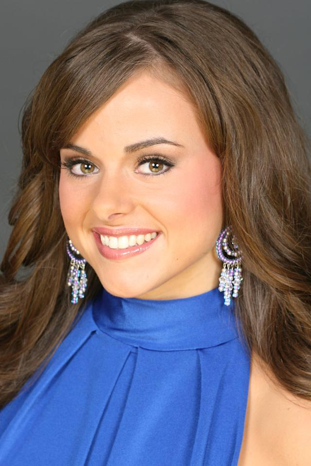 "Miss Delaware, Galen Giaccone, is a contestant in the <a href=""/miss-america-countdown-to-the-crown/show/44013"">Miss America 2009 Pageant</a>."