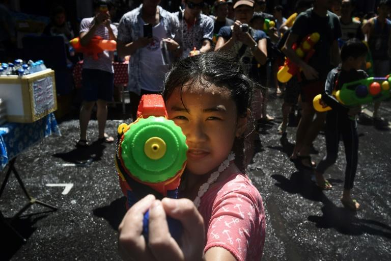 Songkran rings in the Thai kingdom's traditional new year