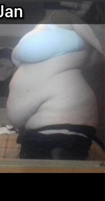 At over 19 stone, Tina Cotton suffered three miscarriages [Photo: SWNS]