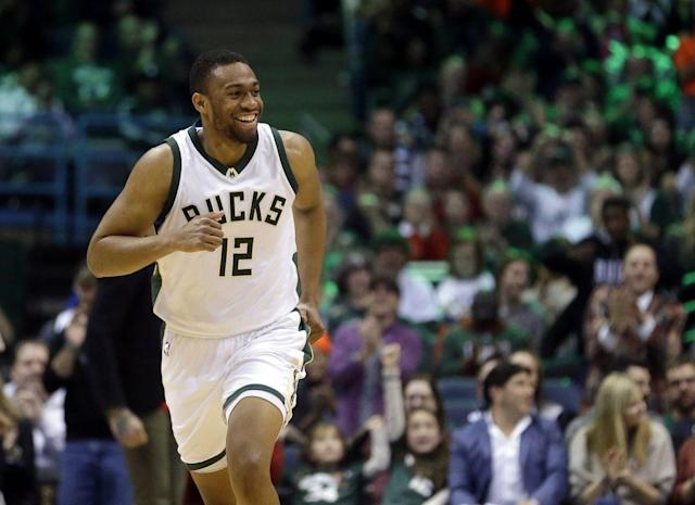 "<a class=""link rapid-noclick-resp"" href=""/nba/players/5293/"" data-ylk=""slk:Jabari Parker"">Jabari Parker</a> is a positive example. (AP)"