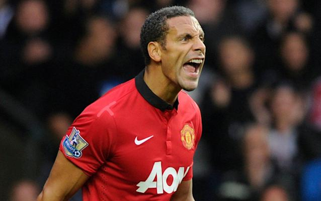 <span>Roar: Rio found that the macho culture of football had not prepared him for talking about his feelings</span> <span>Credit: Reuters </span>