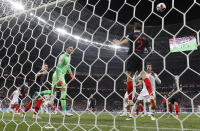 <p>So close! England almost take the lead but Croatia's Sime Vrsaljko is on the line to clear </p>