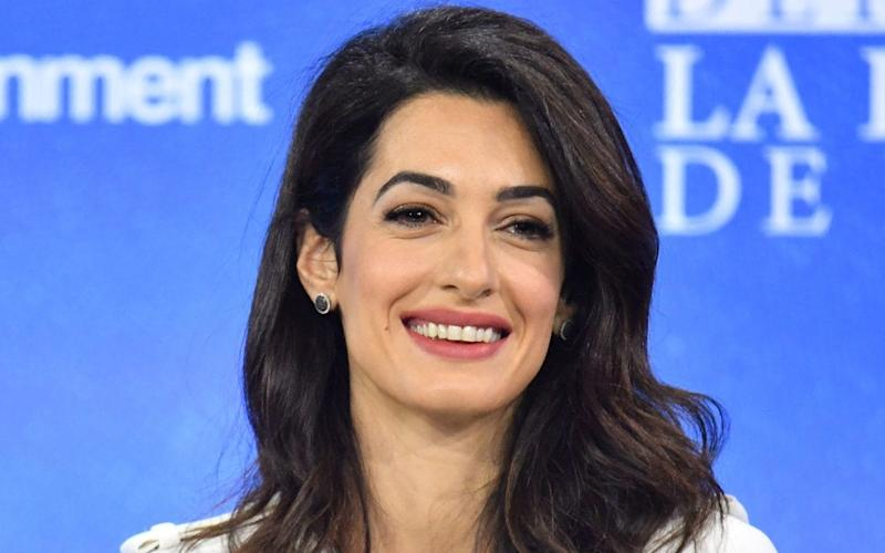 Amal Clooney, who quit as the UK's special envoy on media freedom on Friday - Dominic Lipinski/PA