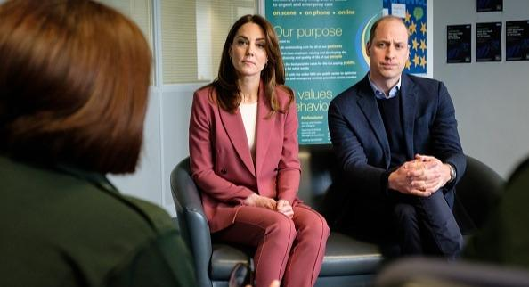 Kate Middleton and Prince William have launched a £5m mental health initiative during the coronavirus lockdown (Getty Images)