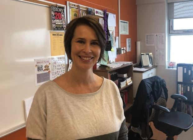 Psychology teacher Heather Gunn worries about the 'lack of hope' she is seeing in her students, who are struggling with mental health challenges during the pandemic.