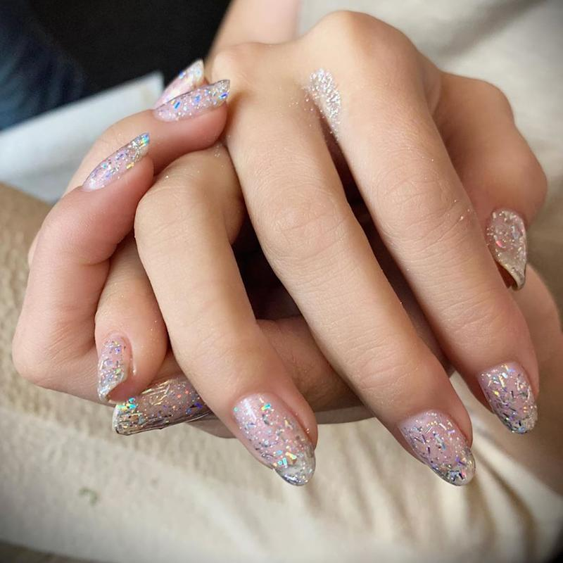 Selena Gomez's $13 Nail Polish Has a Holographic Sparkle, and We're So Mesmerized