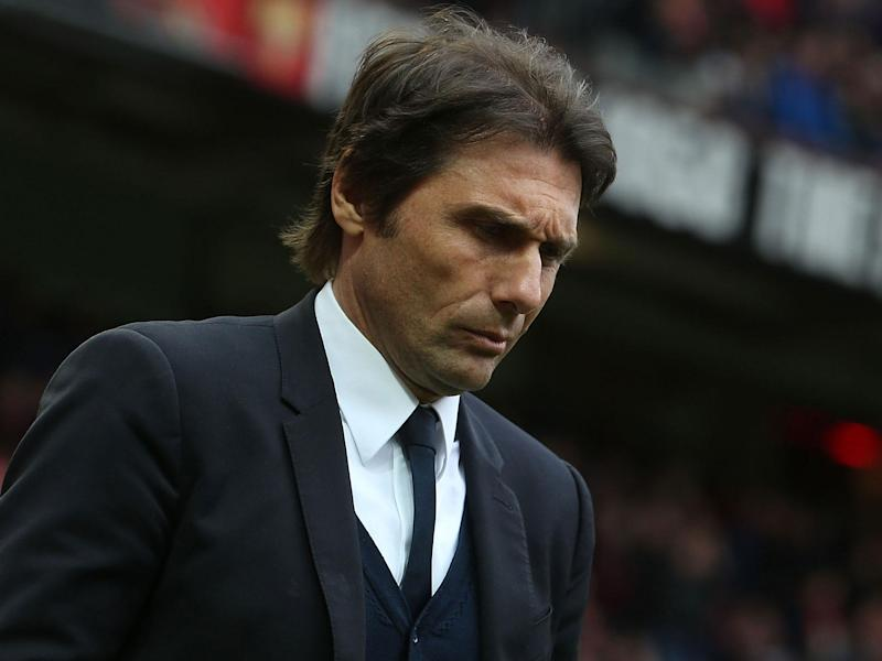 Antonio Conte has a peculiarly poor record in cup competitions: Getty