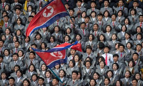 World Cup qualifier is teams' first competitive men's game in the country and pits Tottenham's Son against 'North's Ronaldo'. The two Koreas meet on Tuesday in Pyongyang, where officials will hope that this World Cup qualifier ends in a better fashion than the last. The abiding memory of the Seoul game in April 2009 was the eternally glum North Korea coach Kim Jong-hun striding into the post-match press conference flanked by two minders. Taking no questions, the trenchcoated tactician accused the hosts of poisoning his players and then stormed out, pushing bewildered South Korea FA officials out of the way. There was a much more positive atmosphere in the qualifier that had been scheduled to be held in Pyongyang a few months earlier. With the two countries technically still at war, Dear Leader Kim Jong-il moved the home tie to Shanghai as the prospect of seeing the flag of the south flutter and its anthem ring around the stadium named after his (and the nation's) father Kim Il-sung was a bit too much. The game in China was an emotional affair with fans from both sides of the 38th parallel in fine voice. At the end, the southern players bowed to the white-clad northern cheer squad and were warmly clapped and vice versa (well, the north's players did not bow but did acknowledge the crowd). Even the watching Chinese journalists were moved and talked wistfully of doing the same with Taiwan one day. At least both episodes distracted from the football on display as games between the rivals are often dull. The desire not to lose does not help, resulting in plenty of huff and puff and little else. The atmosphere is often surreal too, because of neutral venues or supporters in the south being a little unsure how to act when faced with their fellow Koreans. There is more needle when both face former coloniser Japan and even China. This time could be different. Nobody knows what Pyongyang will be like. South Korea have played there only once, in a 1990 friendly which remains t