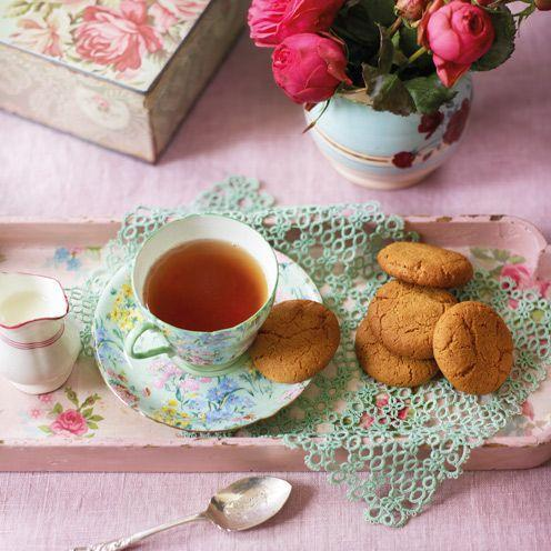 """<p>One taste of these home-made versions and you'll be hooked.<br><br><strong>Recipe:</strong> <a href=""""https://www.goodhousekeeping.com/uk/food/recipes/gingernuts-biscuits"""" rel=""""nofollow noopener"""" target=""""_blank"""" data-ylk=""""slk:Gingernuts"""" class=""""link rapid-noclick-resp"""">Gingernuts</a><br> </p>"""