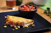 """<p>Most people enjoy grilling corn and eating it straight from the cob, but roasted corn is also a great base for more involved dishes. This <a href=""""https://www.thedailymeal.com/cook/best-mexican-recipes?referrer=yahoo&category=beauty_food&include_utm=1&utm_medium=referral&utm_source=yahoo&utm_campaign=feed"""" rel=""""nofollow noopener"""" target=""""_blank"""" data-ylk=""""slk:Mexican recipe"""" class=""""link rapid-noclick-resp"""">Mexican recipe</a> uses corn in two ways. First, grill the corn and remove the kernels from the cob. Then, combine some of the kernels with masa harina to make your own tortillas. Place the rest of your roasted corn in between the tortilla with gooey Monterey Jack cheese and plenty of guacamole.</p> <p><a href=""""https://www.thedailymeal.com/recipes/roasted-corn-quesadilla?referrer=yahoo&category=beauty_food&include_utm=1&utm_medium=referral&utm_source=yahoo&utm_campaign=feed"""" rel=""""nofollow noopener"""" target=""""_blank"""" data-ylk=""""slk:For the Roasted Corn Quesadillas recipe, click here."""" class=""""link rapid-noclick-resp"""">For the Roasted Corn Quesadillas recipe, click here.</a></p>"""