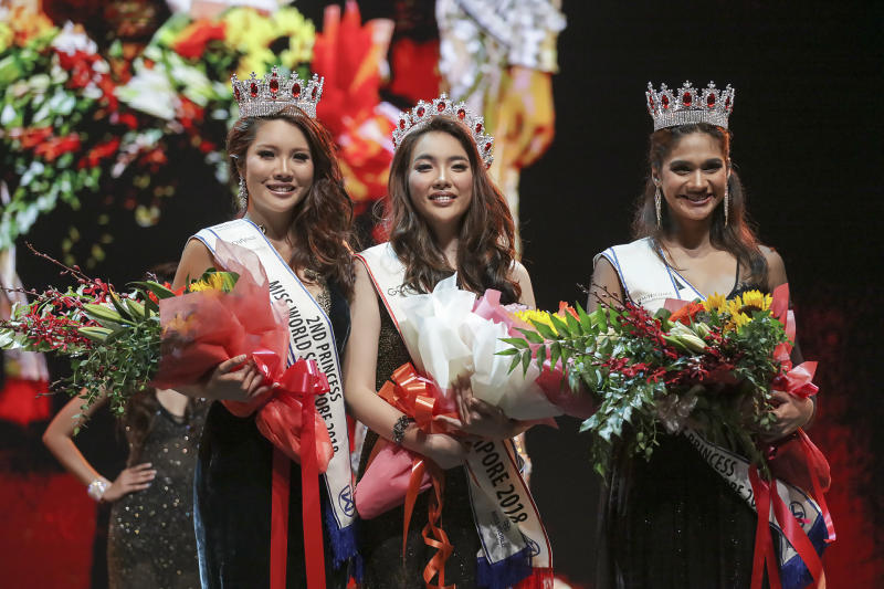 Actress-model Vanessa Peh crowned winner of Miss World Singapore 2018
