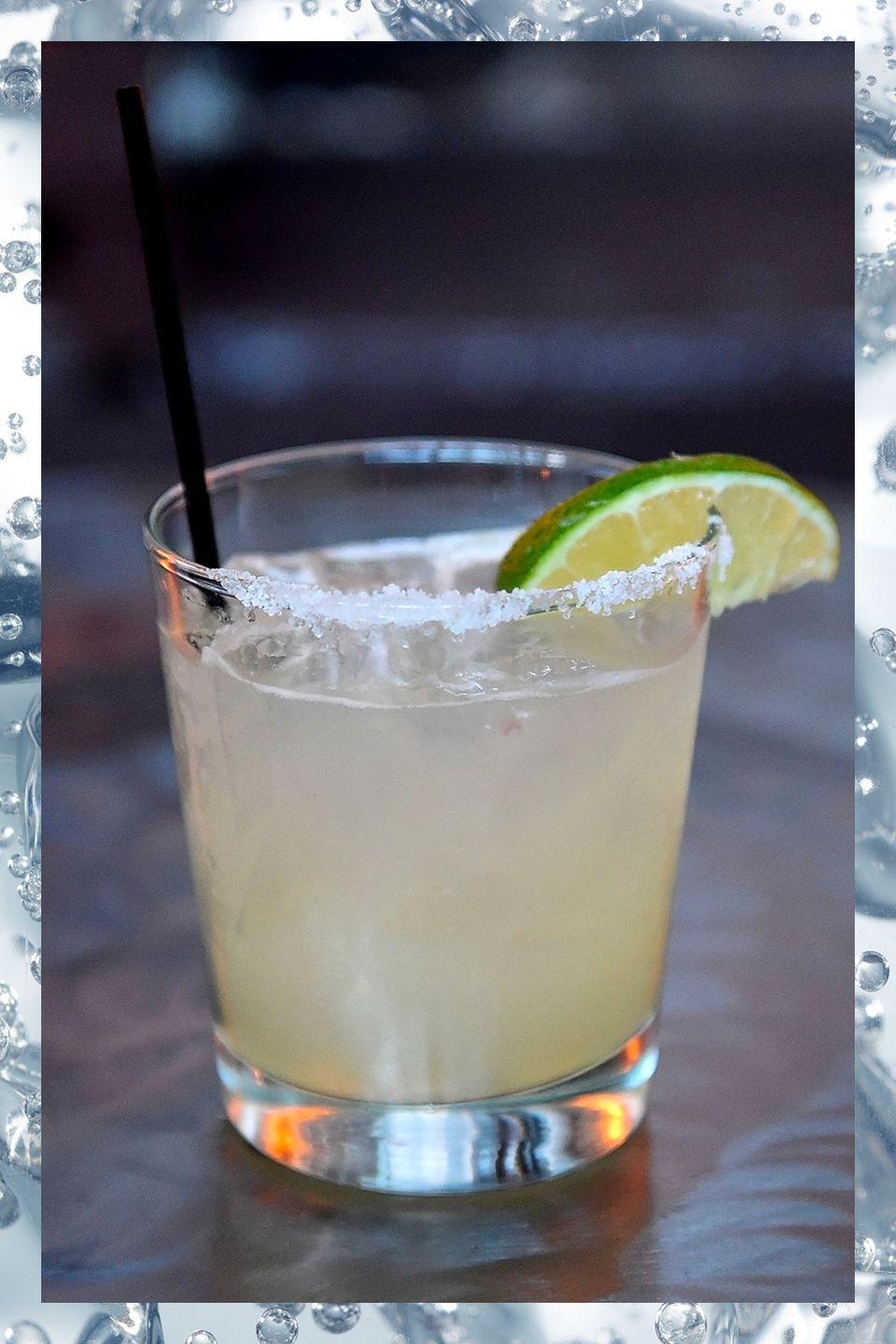 """<p>Cloyingly sweet margarita mixes have given this drink a bad name. A well-made version is a fresh mix of lime juice and tequila, with a hint of sweetener:</p><p>- 2 oz silver tequila<br>- 1 oz Cointreau <br>- 1 oz lime juice<br>- Salt for the rim</p><p><em>Since this recipe includes fresh juice, it should be shaken. Serve over ice in a glass with a salted rim.</em></p><p><strong>More:</strong> <a href=""""https://www.townandcountrymag.com/leisure/drinks/g3314/tequila-drinks/"""" rel=""""nofollow noopener"""" target=""""_blank"""" data-ylk=""""slk:Tequila Drinks You Should Know About"""" class=""""link rapid-noclick-resp"""">Tequila Drinks You Should Know About</a></p>"""