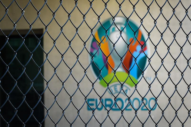 UEFA made the call on Tuesday to postpone Euro 2020 to next summer. (Photo by FABRICE COFFRINI/AFP via Getty Images)