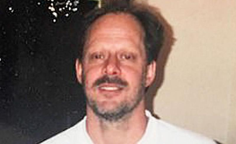 Stephen Paddock is seen in this undated photo released by his brother Eric Paddock.