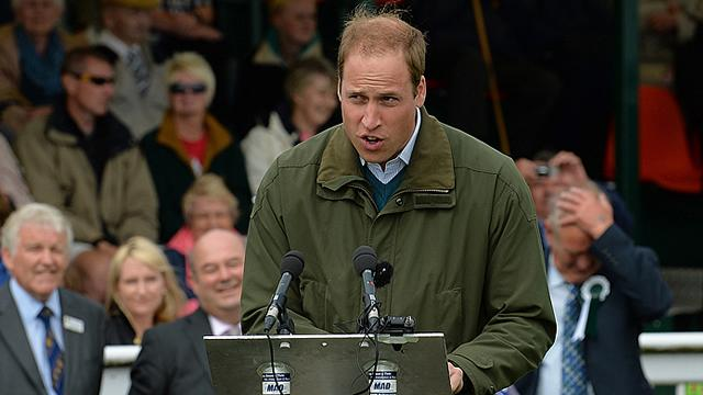 Prince William Leaving the Royal Air Force