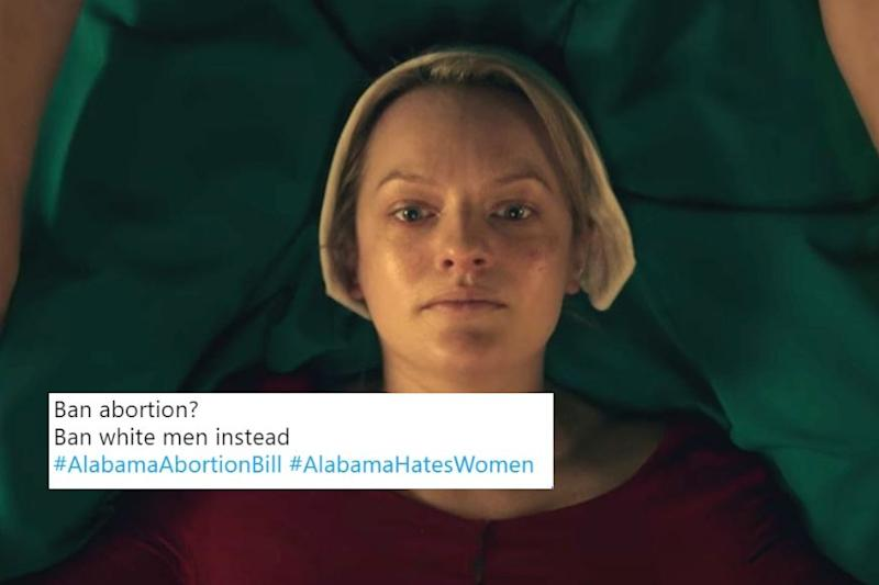 Women Tweet Their Hearts Out Against Alabama Abortion Ban That Doesn't Spare Even Rape Victims