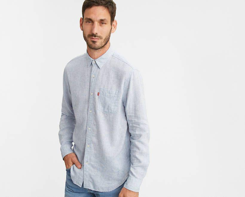 """<p><strong>Levi's</strong></p><p>levi.com</p><p><strong>$24.99</strong></p><p><a href=""""https://go.redirectingat.com?id=74968X1596630&url=https%3A%2F%2Fwww.levi.com%2FUS%2Fen_US%2Fapparel%2Fclothing%2Ftops%2Fsunset-one-pocket-shirt%2Fp%2F857460010&sref=https%3A%2F%2Fwww.esquire.com%2Fstyle%2Fmens-fashion%2Fg32945302%2Flevis-summer-sale%2F"""" rel=""""nofollow noopener"""" target=""""_blank"""" data-ylk=""""slk:Buy"""" class=""""link rapid-noclick-resp"""">Buy</a></p><p>Or, alternatively, if you're feeling fancy a (*checks notes*) button-front shirt. Those are still a thing, right?</p>"""