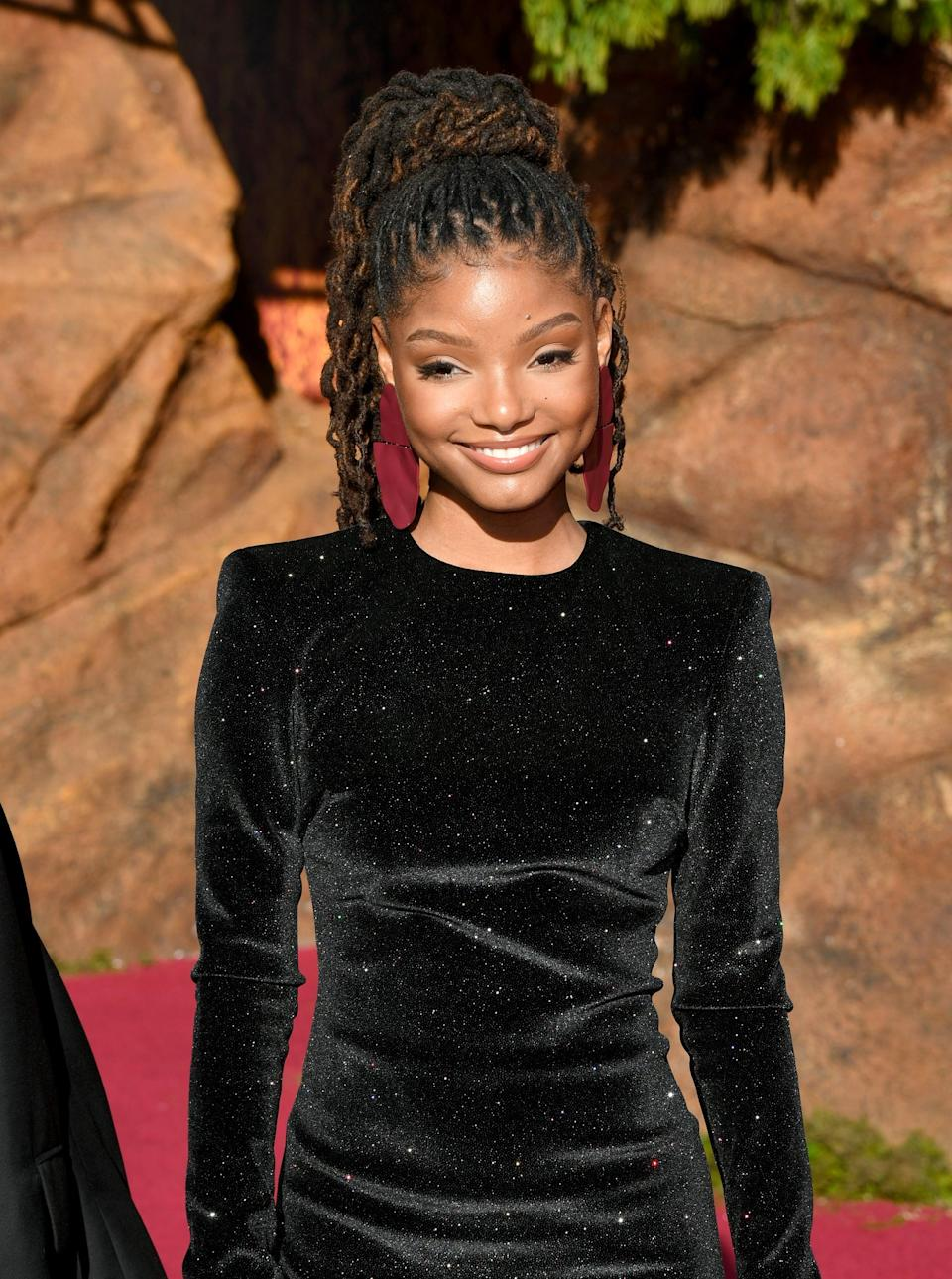 "<p>The 19-year-old singer and actress, who is one half of the pop-R&B duo Chloe x Halle, is <a href=""https://www.hollywoodreporter.com/heat-vision/disney-finds-little-mermaid-star-singer-halle-bailey-1220951"" class=""link rapid-noclick-resp"" rel=""nofollow noopener"" target=""_blank"" data-ylk=""slk:confirmed to star as Ariel"">confirmed to star as Ariel</a> in the live-action flick. It will be a massive breakout role for Bailey, who stars with her sister on Freeform's <strong>Grown-ish</strong>. </p>"