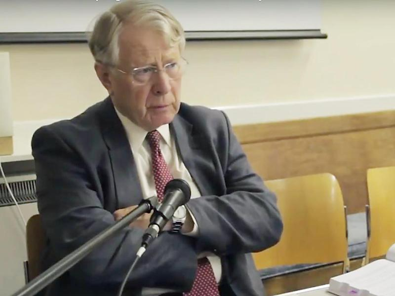 Sir David predicted that an anti-EU clique, who for years had lambasted the European Court, would turn its guns on British courts and judges: YouTube