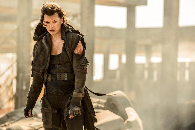 Jovovich... is a bit sceptical about the Resident Evil reboot - Credit: Constantin Film