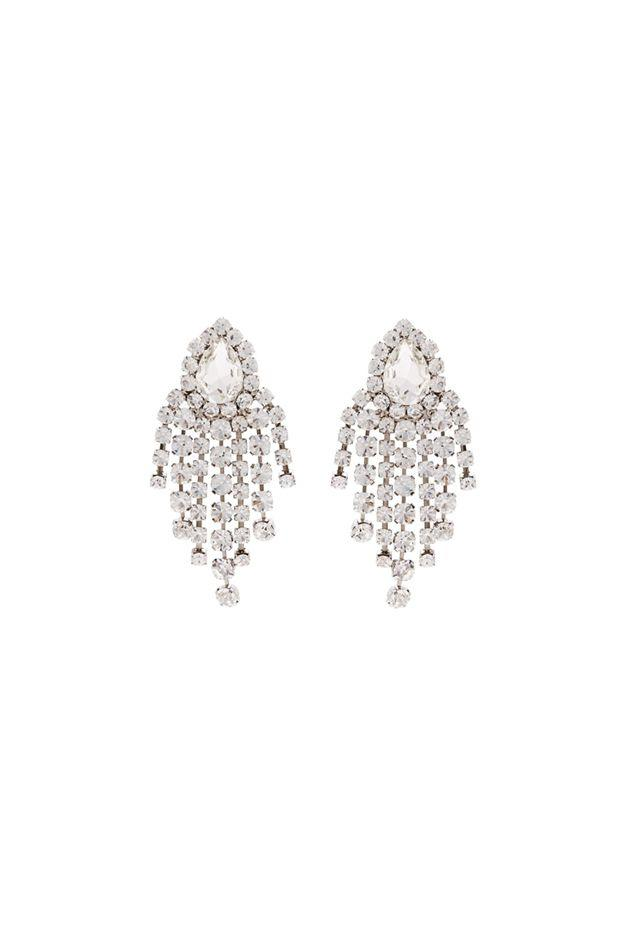 """<p>For a ritzier night, don't be afraid to break out the bling-especially if said bling resembles gaudy, Vegas hotel-style chandeliers.</p><p><em></em><em>Crystal-embellished chandelier clip earrings, $478</em></p><p><a class=""""body-btn-link"""" href=""""https://go.redirectingat.com?id=74968X1596630&url=https%3A%2F%2Fwww.matchesfashion.com%2Fproducts%2FAlessandra-Rich-Crystal-embellished-chandelier-clip-earrings-1269095&sref=http%3A%2F%2Fwww.crfashionbook.com%2Ffashion%2Fg27396500%2Fbachelorette-party-las-vegas-shopping-guide%2F"""" target=""""_blank"""">SHOP</a></p>"""
