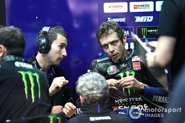 "Valentino Rossi, Yamaha Factory Racing <span class=""copyright"">Gold and Goose / Motorsport Images</span>"