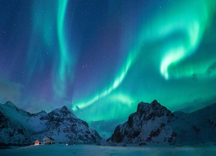 "<p>The <a href=""https://www.alaska.org/things-to-do/northern-lights-viewing"" rel=""nofollow noopener"" target=""_blank"" data-ylk=""slk:Northern Lights"" class=""link rapid-noclick-resp"">Northern Lights</a> are a magnificent wonder of the world, and I doubt your camera will do the view justice when you see it firsthand in Alaska. </p><p>While this view is always contingent on the weather and time of year, be sure to do your research and plan ahead. It's recommended that the best time to see the lights from mid-August to mid-April, and the best towns to see them from are in Fairbanks and Anchorage. </p>"