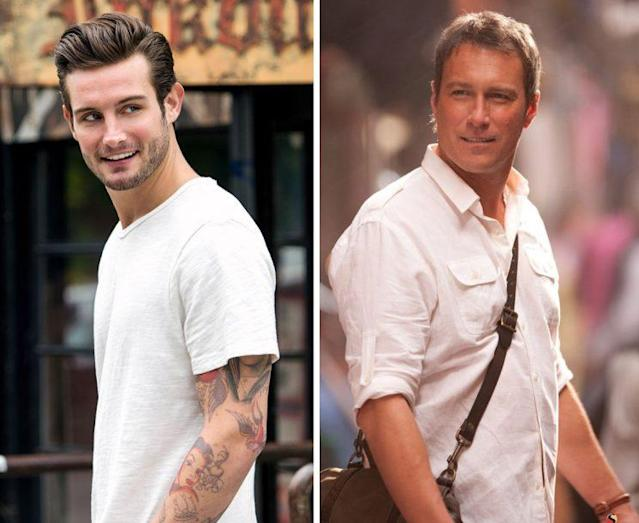 Josh (Nico Tortorella) and Aidan (John Corbett). (Photos: TV Land, HBO)