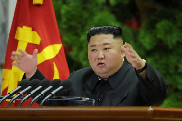 Kim told a meeting of top ruling party officials that 'positive and offensive measures for fully ensuring the sovereignty and security of the country'