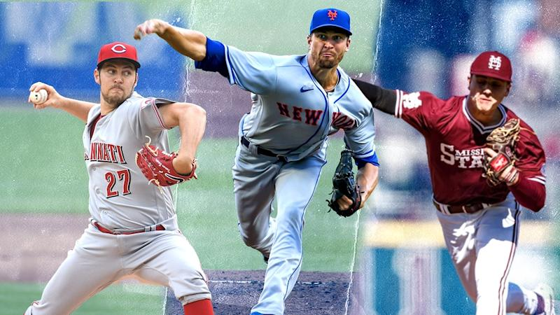 Trevor Bauer, Jacob deGrom, and J.T. Ginn treated image