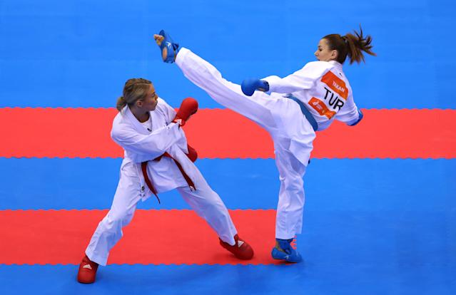 Both forms of karate will be available to men and women. (Credit: Getty Images)