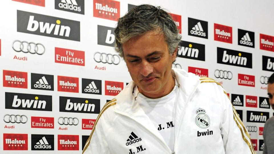 Mourinho al Real Madrid   JAVIER SORIANO/Getty Images