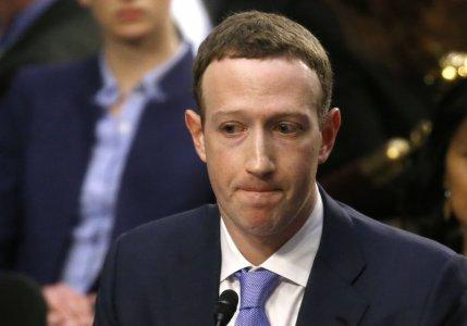 Facebook CEO Mark Zuckerberg listens while testifying before a joint Senate Judiciary and Commerce Committees hearing regarding the company's use and protection of user data, on Capitol Hill in Washington, U.S., April 10, 2018. REUTERS/Leah Millis