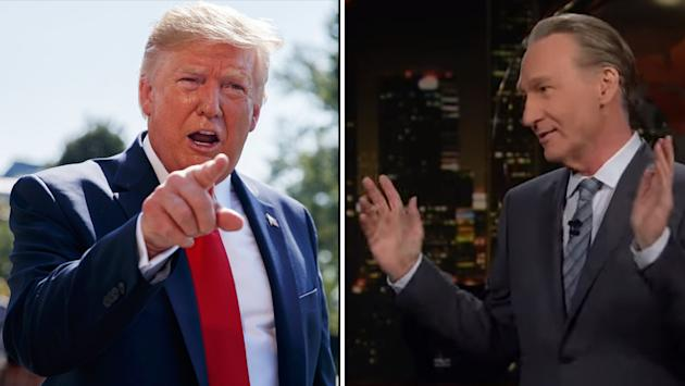 Trump Labels Bill Maher a 'Wacko Comedian' Who Tells 'So Many Lies'