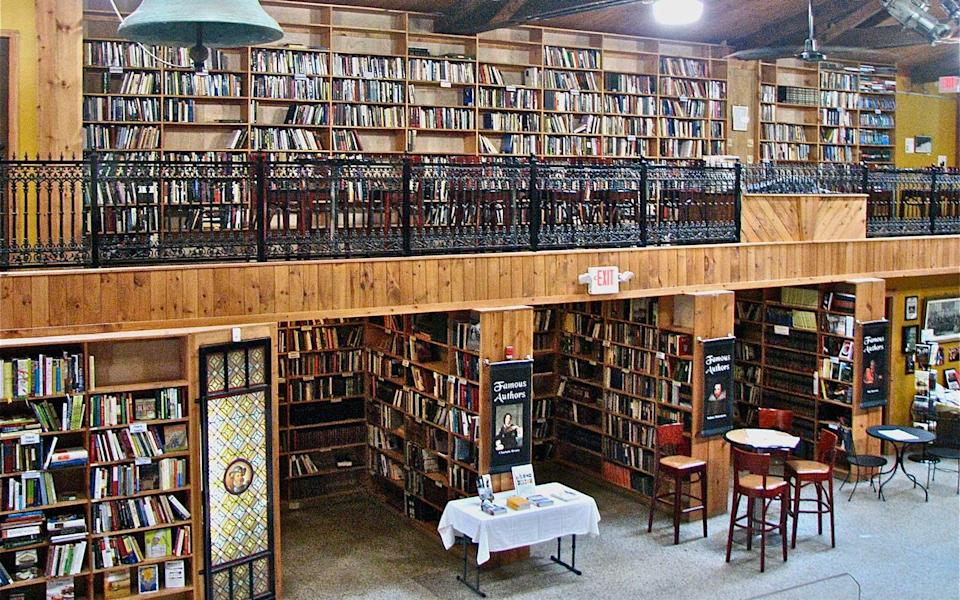 """<p>In 2001, when Catherine Lawrence and husband Eric Papenfuse (now Mayor Papenfuse) opened <a rel=""""nofollow noopener"""" href=""""http://www.midtownscholar.com/"""" target=""""_blank"""" data-ylk=""""slk:The Midtown Scholar Bookstore"""" class=""""link rapid-noclick-resp"""">The Midtown Scholar Bookstore</a>, more than a few residents of Harrisburg's Midtown neighborhood raised their eyebrows. """"They were so down on the area that they could only conceive of us opening an adult book store,"""" Papenfuse told the local public radio station. But by 2009, the store had become a major catalyst for change in the neighborhood and had moved from an old post office into a series of interconnected buildings, one of them a 1920s-era cinema. Today, The Midtown Scholar has become a veritable marketplace of ideas, an exceptional bookstore with a coffee bar to boot. Come for the literature, stay for the conversation.</p>"""