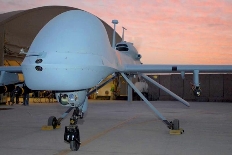 A US drone attack on a militant compound in a restive Pakistani tribal area Saturday killed at least seven militants (AFP Photo/Ho)