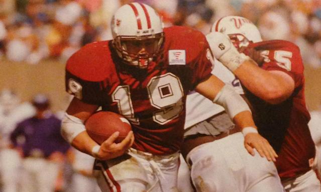 Rene Ingoglia was a two-time All-American running back at UMass. (Courtesy of Rene Ingoglia)