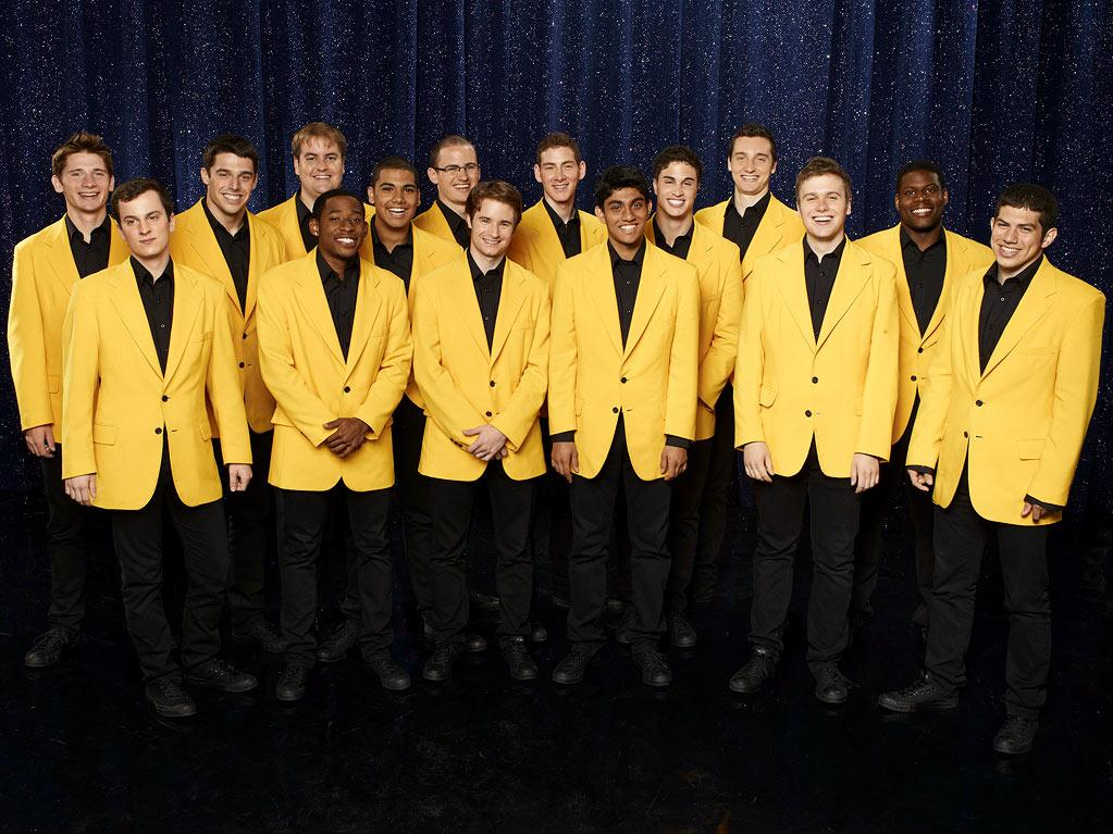 "THE YELLOWJACKETS of Rochester, NY: Formed in 1956, the University of Rochester YellowJackets are anything but old-fashioned and half the members are enrolled in The Eastman School of Music at the university. This fun loving group's mark of distinction is their bright yellow blazers and distinctive sound. Will this group win Season 3 of ""<a href=""/baselineshow/4738783"">The Sing-Off</a>""?"