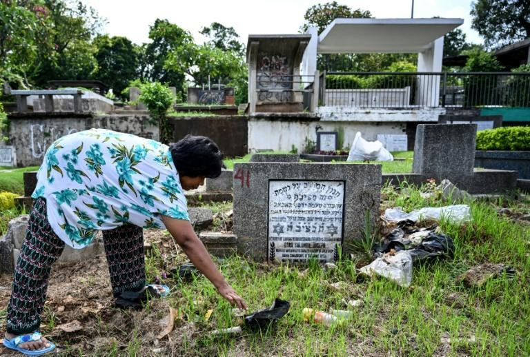 The size of the Jewish community makes it almost invisible so Jews have not been the target of Islamist militants like some of Indonesia's larger religious minorities