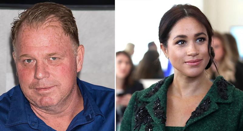 Meghan Markle has not spoken to half-sibling Thomas Markle Jr for years. [Photos: Getty]