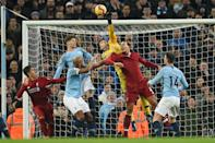 The Premier League's top two clash on Sunday when Liverpool host Manchester City (AFP Photo/Oli SCARFF )