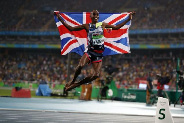 Neil Black coached Sir Mo Farah (Mike Egerton/PA)