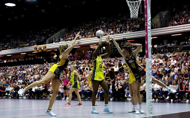 Manchester Thunder are the defending champions, having beaten Wasps in last year's Superleague Grand Final - GETTY IMAGES