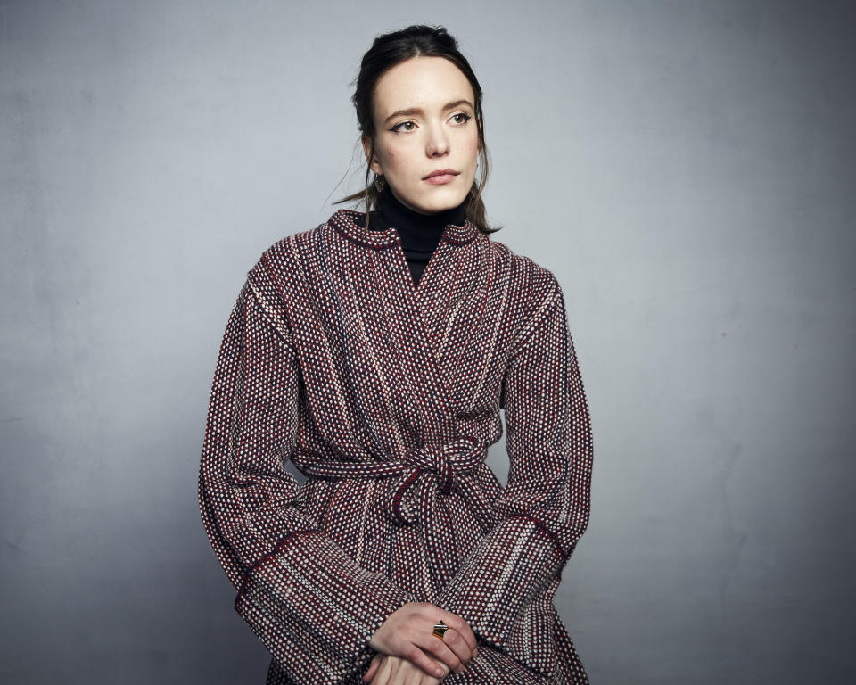 "Stacy Martin poses for a portrait to promote the film ""The Evening Hour"" at the Music Lodge during the Sundance Film Festival on Monday, Jan. 27, 2020, in Park City, Utah. (Photo by Taylor Jewell/Invision/AP)"