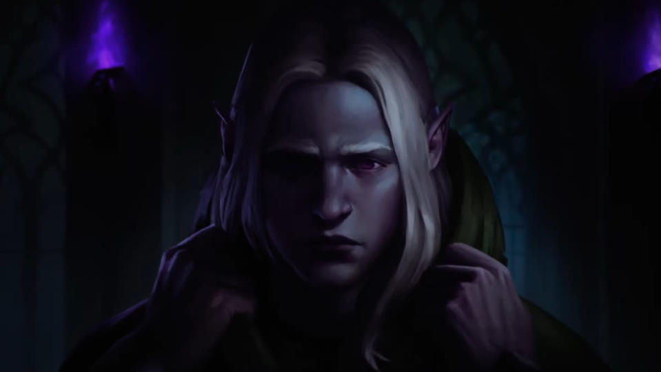 Drizzt in Dungeons & Dragons animated short